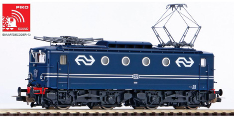 locomotive electrique PIKO Loco elec. RH 1100 son