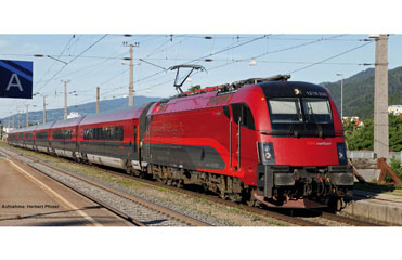 locomotive electrique PIKO RAME RAILJET RH1216 AC